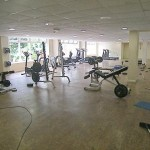 Sports centre cleaning service